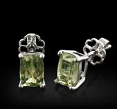 9ct Gold 2 24ct Zultanite Earrings