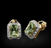 9ct Gold 1 98ct Zultanite Diamond Earrings